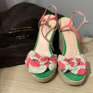 Kate Spade Strawberry Wedges